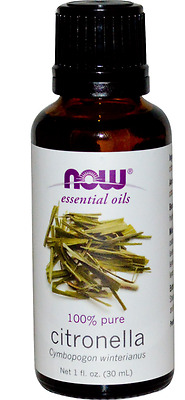 New Now Foods Organic Essential Oils Aromatherapy Purifying Pure Citronella Care