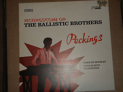 """Ballistic Brothers – Peckings / Come On [12"""" Single]"""