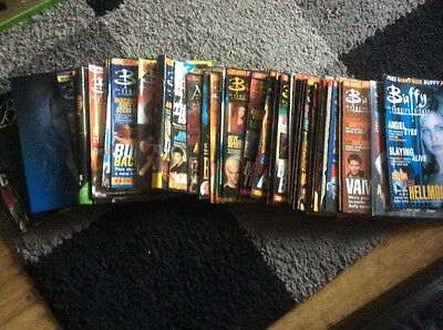 Bundle/collection/job Lot Of Buffy/angel Btvs Magazines