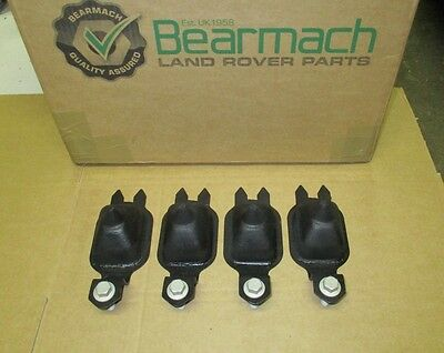 Land Rover Discovery 2 Td5 Or V8 Front & Rear Bump Stops X 4 + Bolts Rnv100060