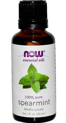 New Now Foods Organic Essential Oils Aromatherapy Purifying Pure Spearmint Daily