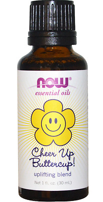 New Now Foods Organic Essential Oils Aromatherapy Purifying Pure Uplifting Cheer