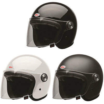 Bell Riot Moto Motorcycle Motorbike Open Face Jet Helmet | All Colours & Sizes