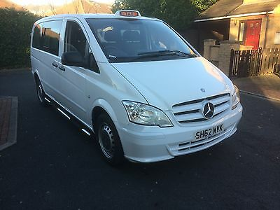 Mercedes Vito SWB Wheelchair Accessible 9 Seater Taxi Hackney Spec