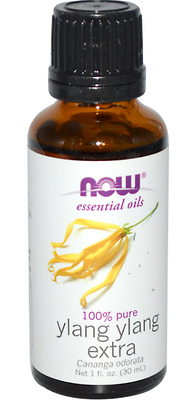 New Now Foods Organic Essential Oil Aromatherapy Purifying Pure Ylang Ylang Xtra