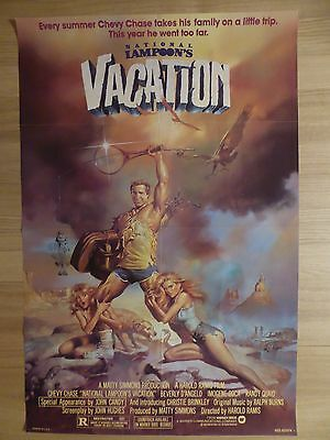 NATIONAL LAMPOON'S VACATION (1983)- original US 1 Sheet film/movie poster,comedy