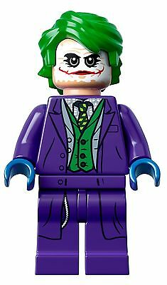 Lego Minifigure Dark Knight Joker - From Set 76023 - Sh133 - New And Genuine