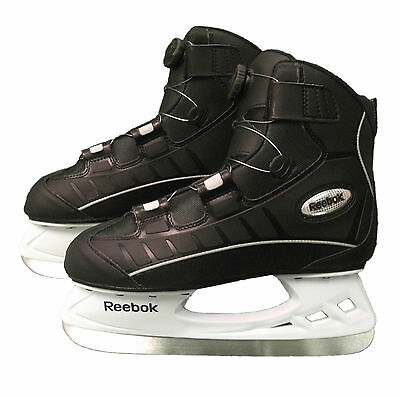 New Reebok recreational ice skates BOA tightening system size 8 men's senior