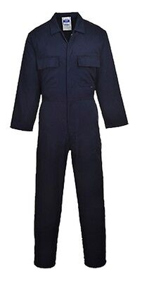 6 Pack - Portwest S999 Euro Work Boilersuit 3XL Navy
