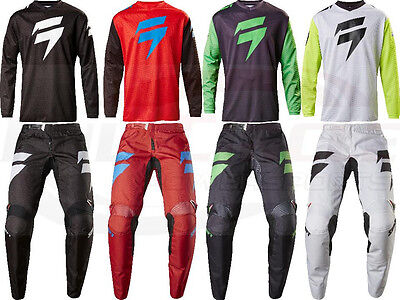 Shift MX Racing Whit3 Ninety Seven Jersey & Pant Motocross ATV/MTB Off Road 2017