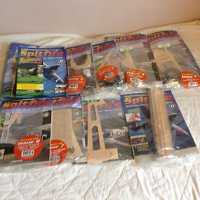 Deagostini Spitfire Model Kit Complete With Engine And Remote Control