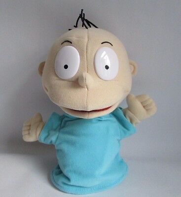 Rugrats Tommy Hand Puppet 1998 By Mattel 9inch Plush Toys