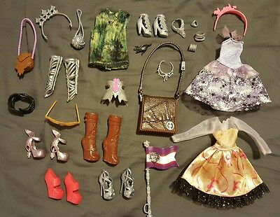 Ever After High Clothes Shoes Clothing and Accessories Bundle