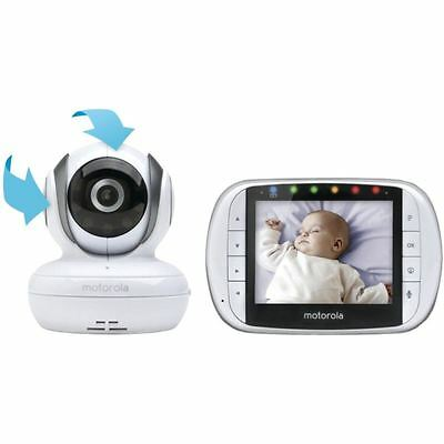 Motorola MBP36S Remote Wireless Video Baby Monitor Wifi Camera New