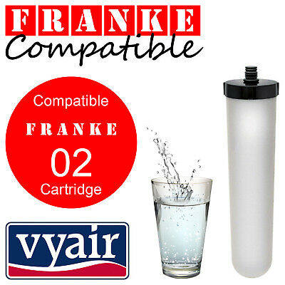 Franke 02 Triflow / Uniflow Compatible Ceramic / Carbon Water Filter Candle x 1