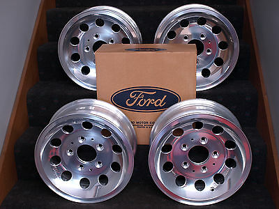 Ford Truck Nos Aluminum Wheels F100 F150 Bronco 4X4 1964-1986 1978 1979 Pace Trk