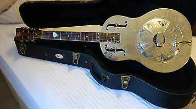 Resinator guitar by Republic, Genuine National single cone fitted.