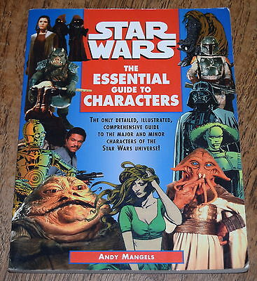 STAR WARS: THE ESSENTIAL GUIDE TO CHARACTERS ~ 1995 SC softcover