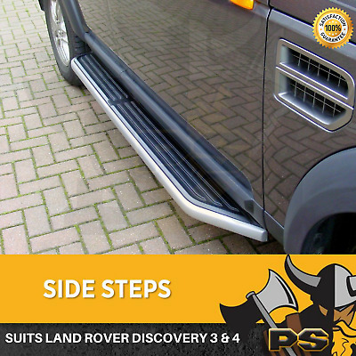 Land Rover Discovery 3 & 4  OEM Style Side Steps Running Boards