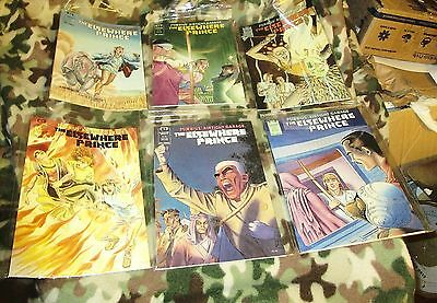 THE ELSEWHERE PRINCE:MOEBIUS AIRTIGHT GARAGE #1, 2, 3, 4, 5, 6. Full Set Ex.Cond