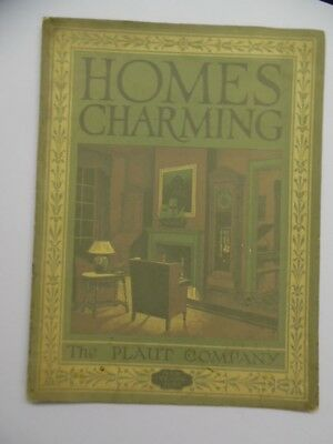 1925 PLAUT COMPANY HOMES CHARMING Furniture Catalog Brochure Hartford CT Vintage