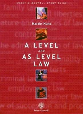A Level and AS Level Law,Martin Hunt