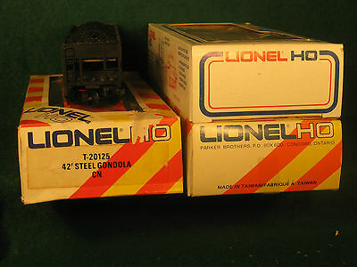 4 HO Lionel freight cars CPR Canadian Pacific CP Rail
