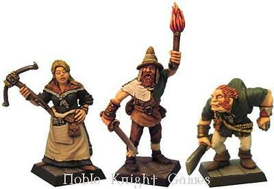 Fenryll Fantasy Mini Resin 28mm Rogues Pack MINT