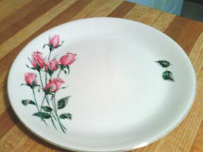 Alfred Meakin Anniversary rose plate
