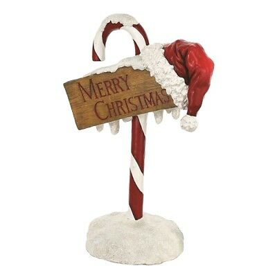 """Candy Cane """"Merry Christmas"""" Sign - 81cm"""