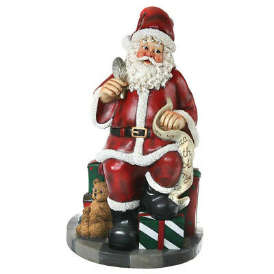 Life-size Santa with Naughty and Nice List - 147cm