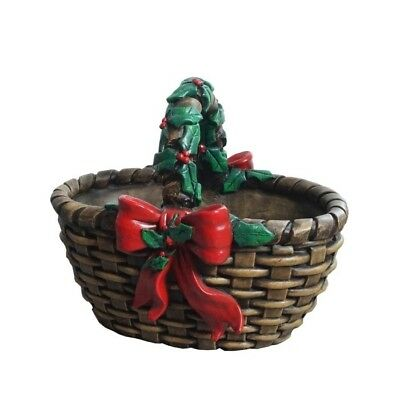 Large Christmas Basket Planter - 51cm
