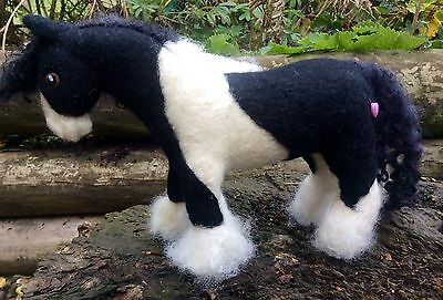 Needle Felted Gypsy / Traditional Cob, Horse, Pony- Unique Handmade Gift