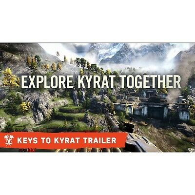Contenuto DLC HURK'S REDEMPTION + KEYS TO KYRAT per FAR CRY 4 PS4 Playstation 4