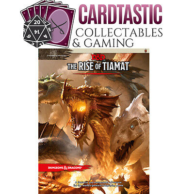Dungeons & Dragons The Rise of Tiamat 5th Edition