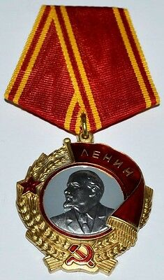 "Soviet Russian Order  Medal ""order Of Lenin"" Type 6. Copy"