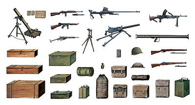Accessori Militari Kit 1:35 Italeri It0407 Modellino