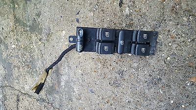 Vw Sharan , Seat Alhambra  Driver Door Four Electric Window Switch Panel