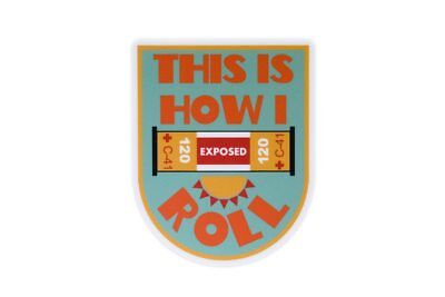 This is How I Roll - Photography Sticker