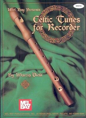Mel Bay Presents Celtic Tunes for Recorder by Marcia Diehl Paperback Book (Engli