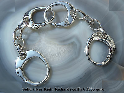 K.Richard hand made cuffs bracelett, silver 925