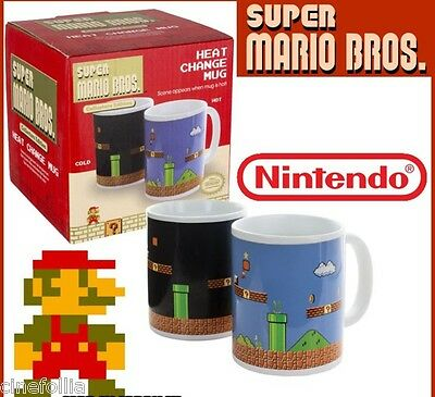 Tazza in ceramica Super Mario Bros. Heat Change Mug Termosensibile Nintendo