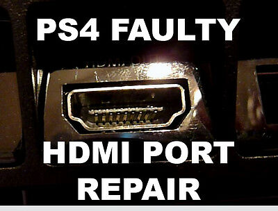 PlayStation 4 PS4 HDMI Socket Replacement / Repair Service - OEM Quality Parts