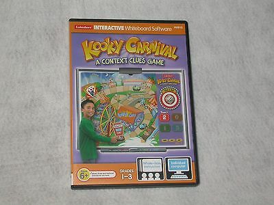 Lakeshore Interactive whiteboard software KOOKY CARNIVAL Context Clues Game