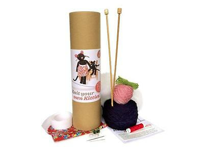 Knit Your Own Kitties Mom and Kitten Cat Knitting Kit