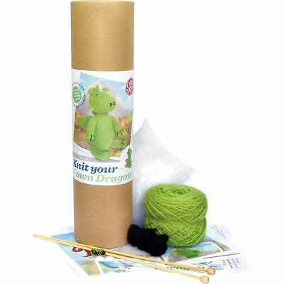 Knit Your Own Dragon Complete Knitting Kit