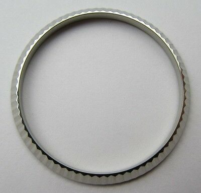 High Quality Fluted Bezel For 36Mm Rolex Mens Watch Stainless Steel - Uk Stock