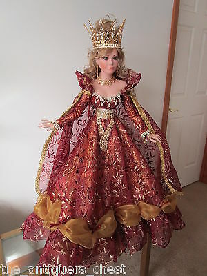 "BYZANTINE BELLE  doll by Rustie, 34"" ARTIST ORIGINAL #1, ONE-OF-A-KIND."