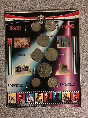 Iraqi Souvenir Coin Set From Iraq 8 Coins