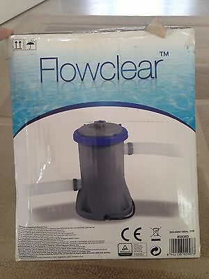 Brand New Bestway Flowclear 58383 Filter Pump For Pool - 530 Gallon